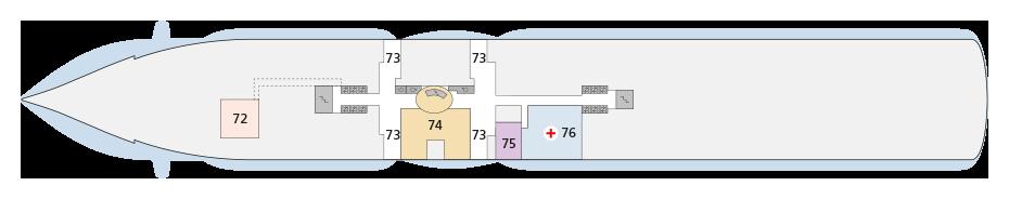 AIDAprima Deck 3