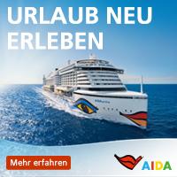 AIDA Kreuzfahrten 2021, 2022 und 2023