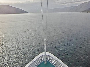Webcam Blick voraus Bug AIDAmar