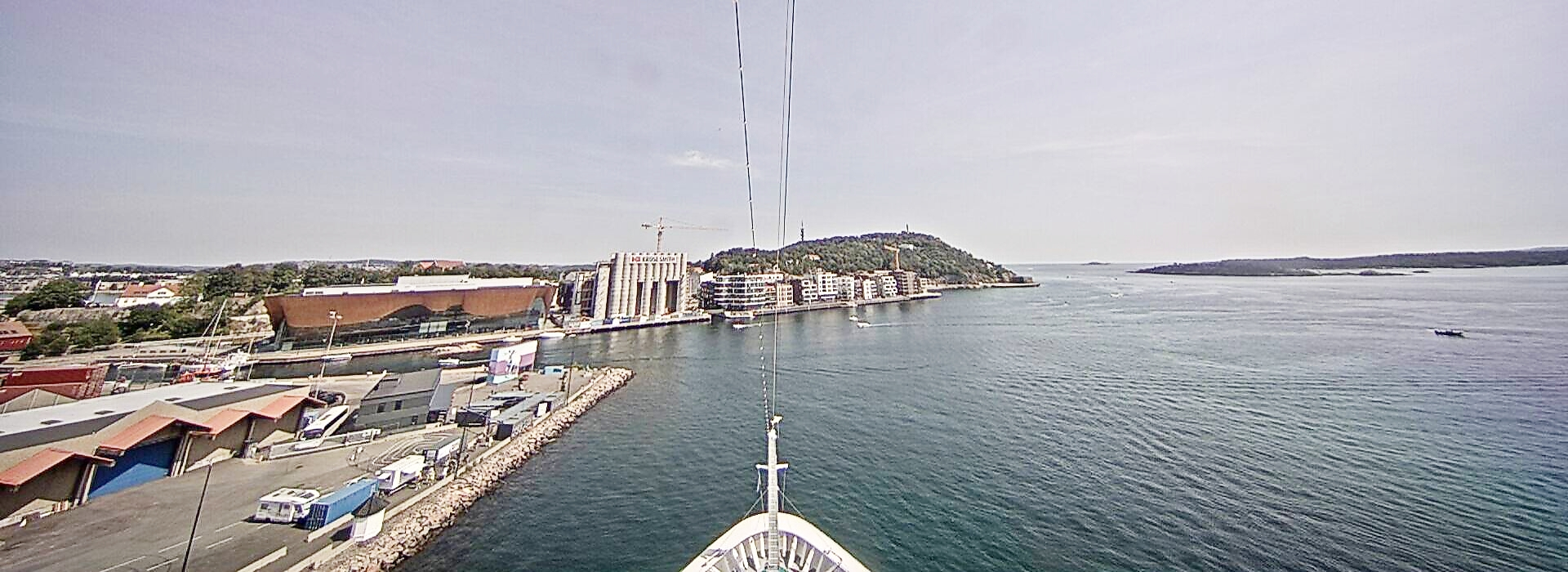 Webcam Panorama AIDAsol